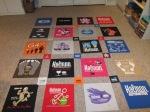 Arrange the shirt panels
